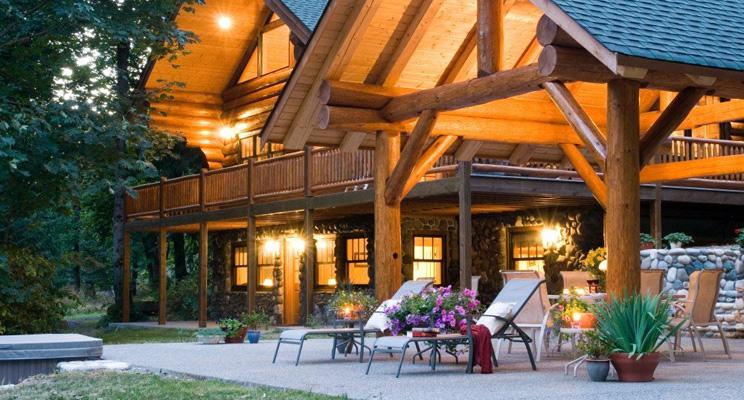Доклад о средствах защиты деревянного дома компании Perma-Chink Systems, Inc.
