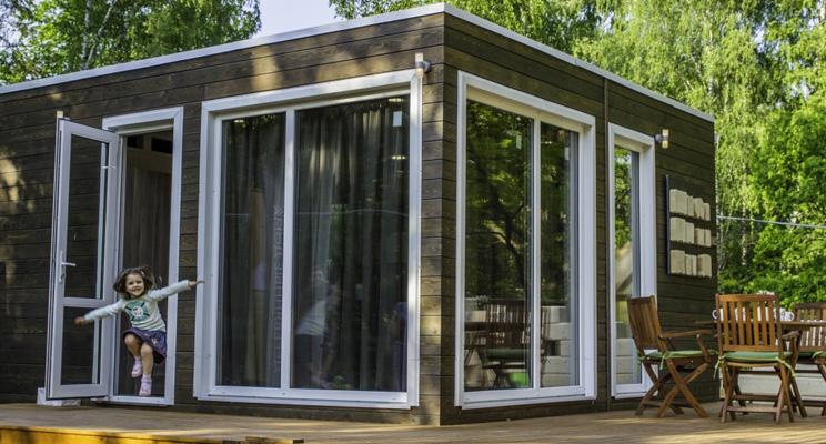 Загородный дом за 25 дней: реально с Forest Line