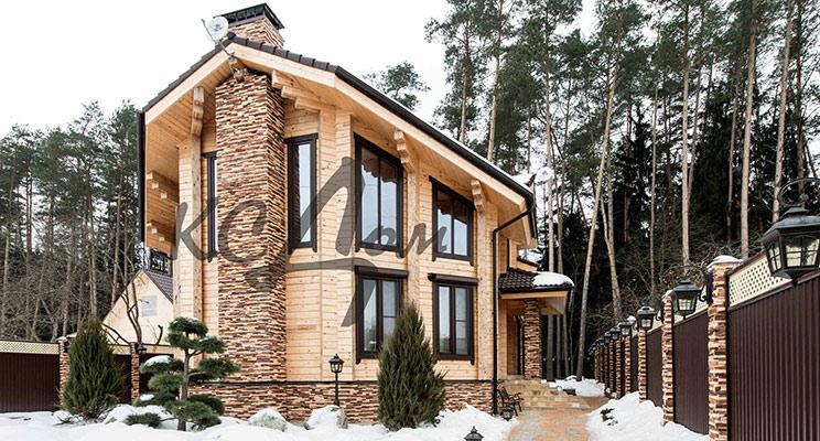Эклектика в деревянном доме