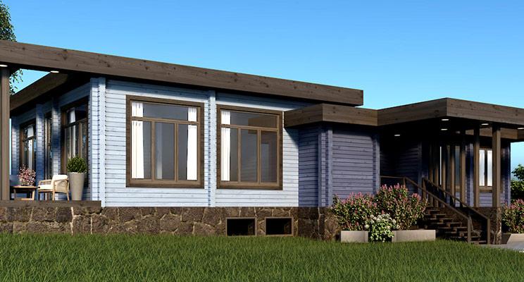 Деревянные дома «Форест Лайн»: обновленный сайт и новый офис