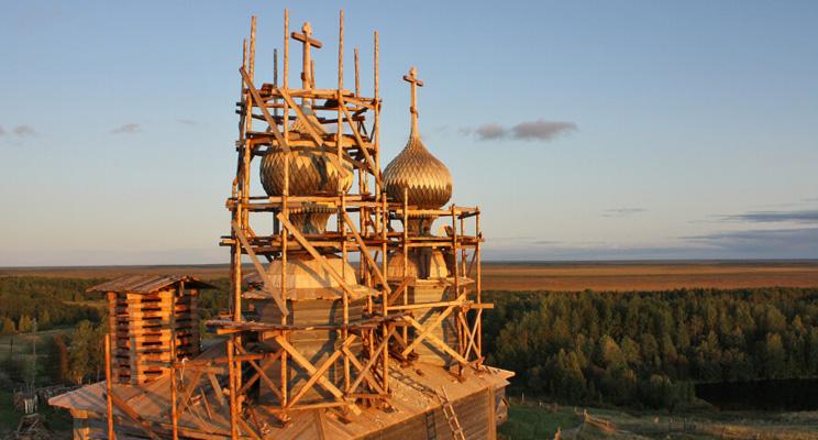 Конференция «Возрождение деревянных храмов Русского Севера»