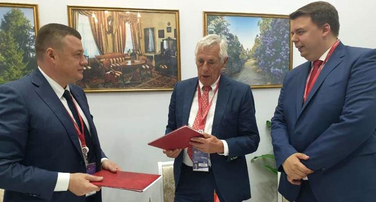 На модернизацию производственных мощностей тамбовского АО «ТАМАК» будет направлено 700 млн рублей — ПМЭФ-2019
