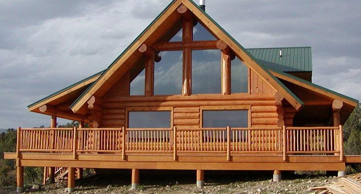 Подбор покрытия и расчет количества материала для отделки фасадов деревянного дома