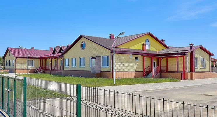 Открыт детский сад, изготовленный из конструкций «ТАМАК»!