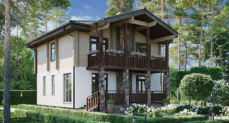 «Русский Запад»: комбинированный дом — идеальное решение